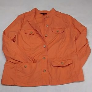 Talbots well constructed cotton jacket